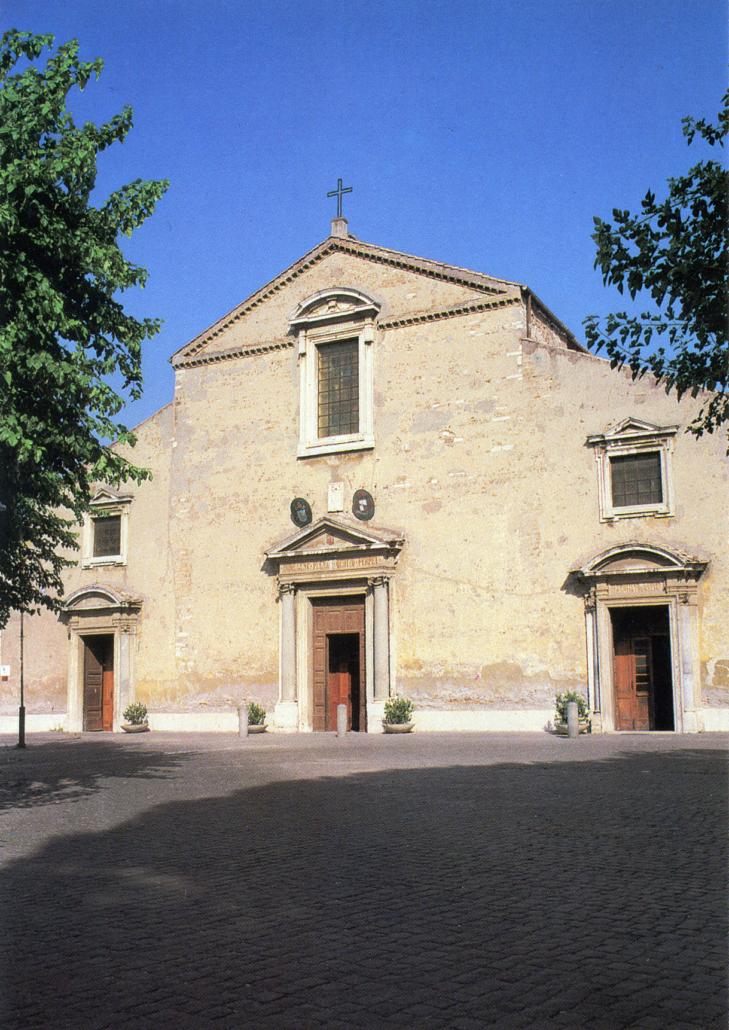 Rome Chrétienne et ses monuments - EUGENE DE LA GOURNERIE - 1867 Basilica-san-pancrazio-729x1030