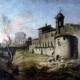 L'Abside dopo i bombardamenti dei francesi aprile-luglio 1849 - Abside Basilica San Pancrazio