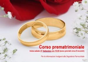 Corso Prematrimoniale 2018