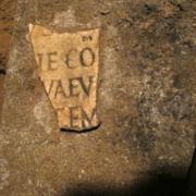 Catacombe di San Pancrazio - particolare